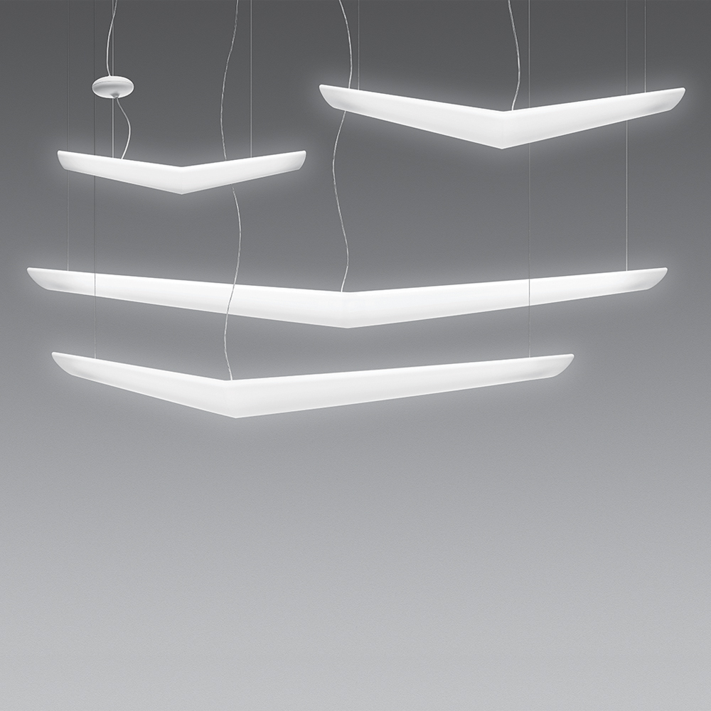 Artemide Suspension Mouette Suspension Inspiration Materials And Technologies