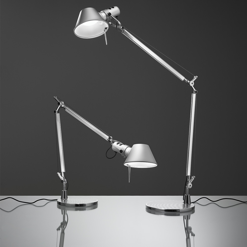 Lampe Artemide Tolomeo Table Inspiration Materials And Technologies Artemide