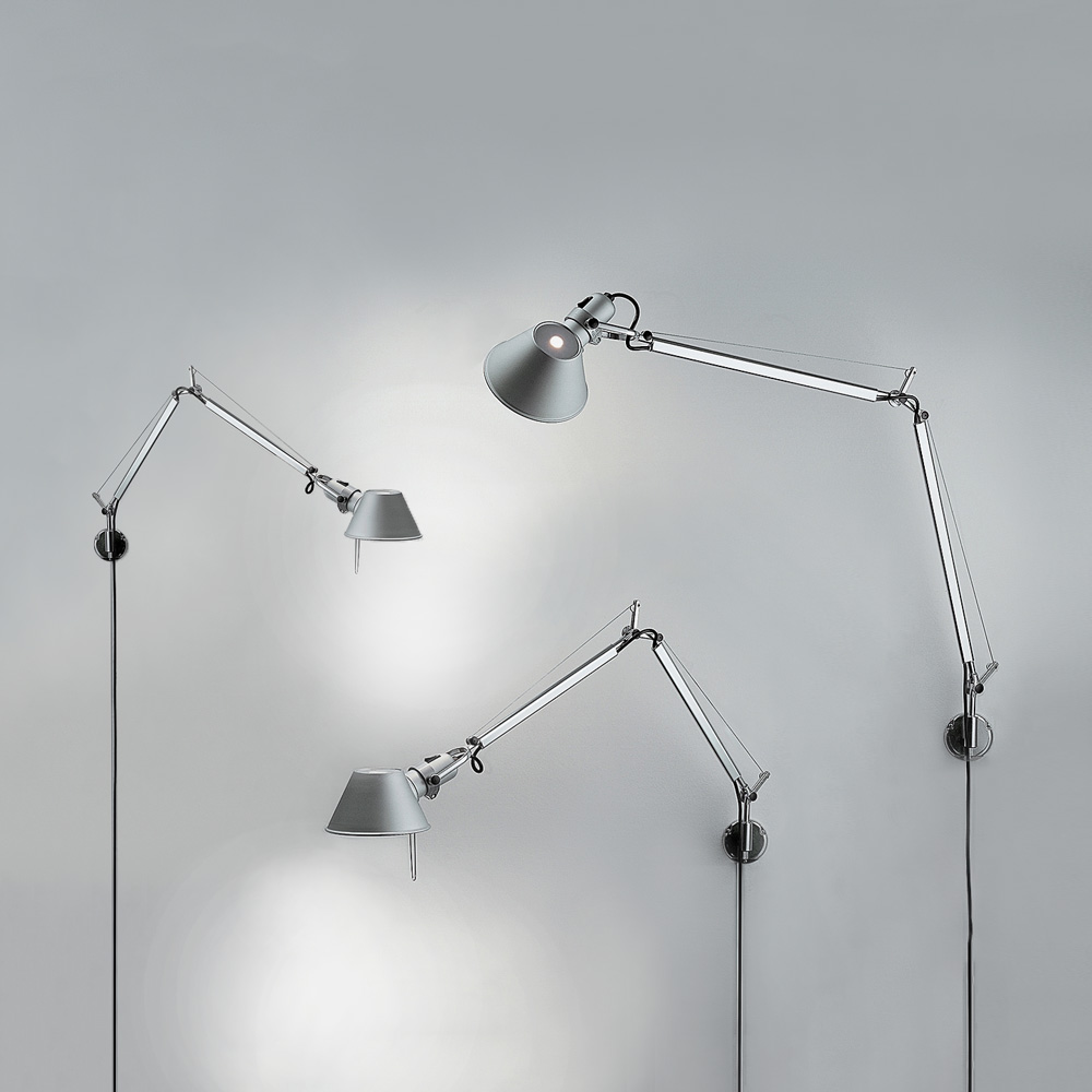 Artemide Lamp Tolomeo Wall Inspiration Materials And Technologies Artemide