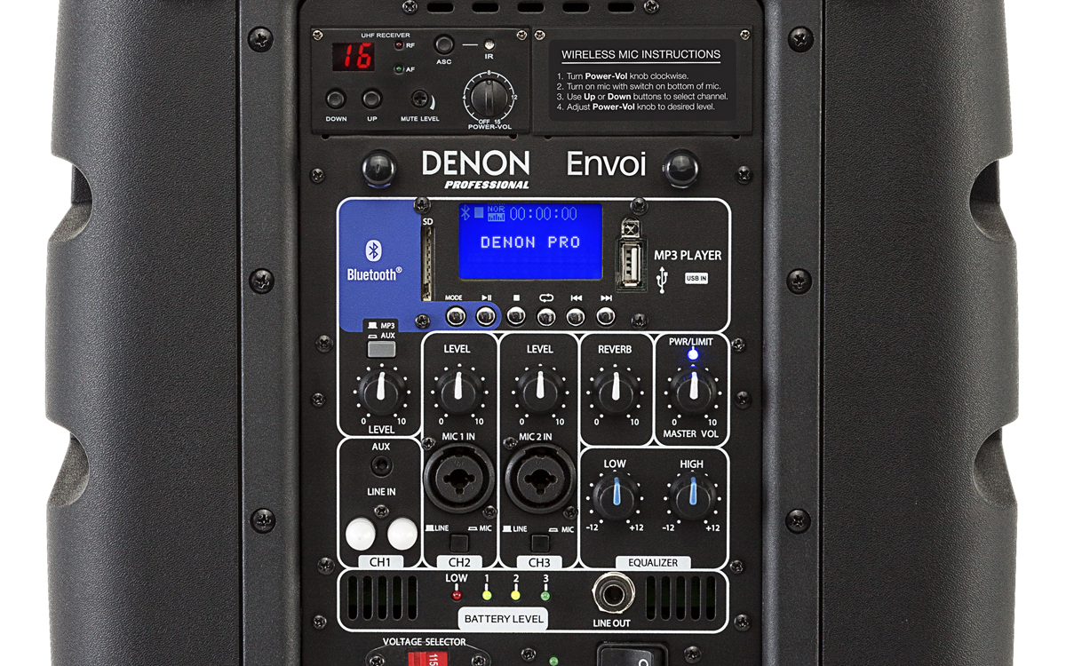 Buy Denon Professional Envoi Akkulautsprecher Mit Bluetooth Audio Deals