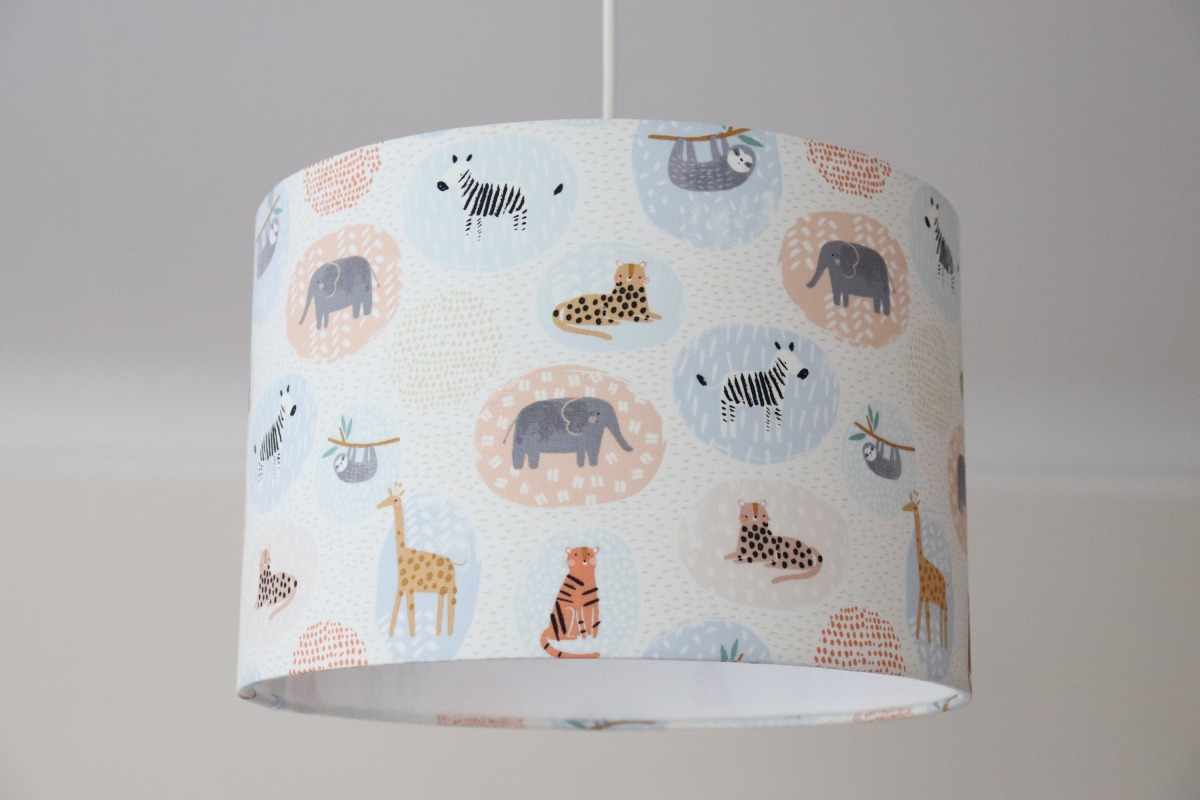 Lampenschirm Kinderzimmer Lampenschirm Kinderzimmer Tiere Pastell | Online Shop ...