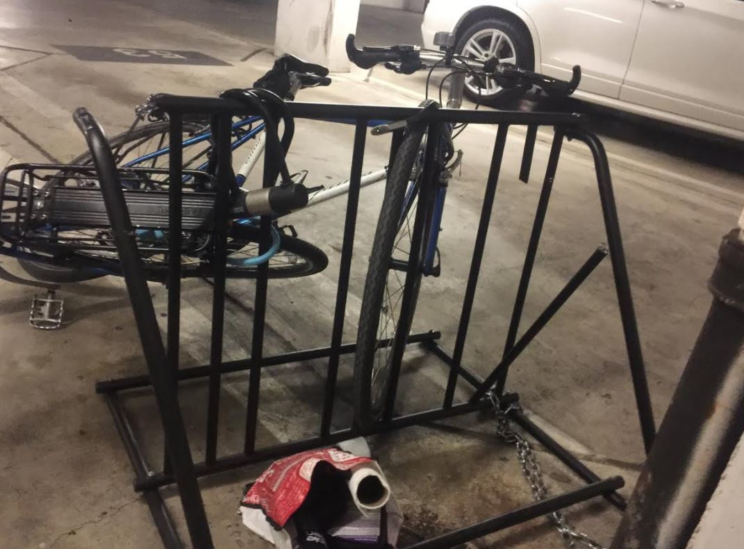 Parking Garage Bike Rack Let S Talk About