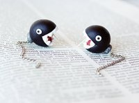 Mario Chain Chomp Earrings | Broadsheet.ie