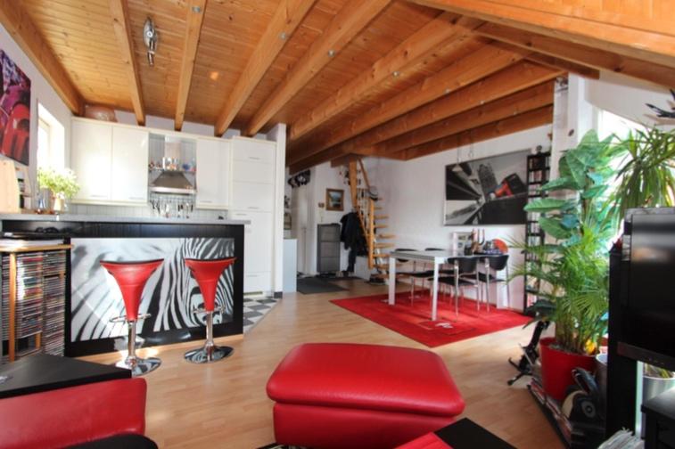 Vorankündigung 2,5-Zimmer-Maisonettewohnung in Dettenhausen - esszimmer dettenhausen