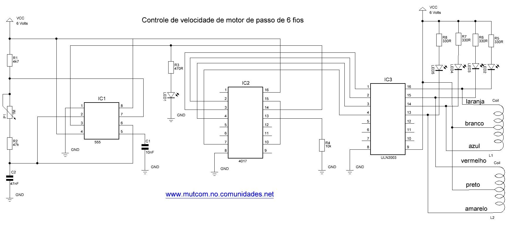 circuito de carregador universal de bateria