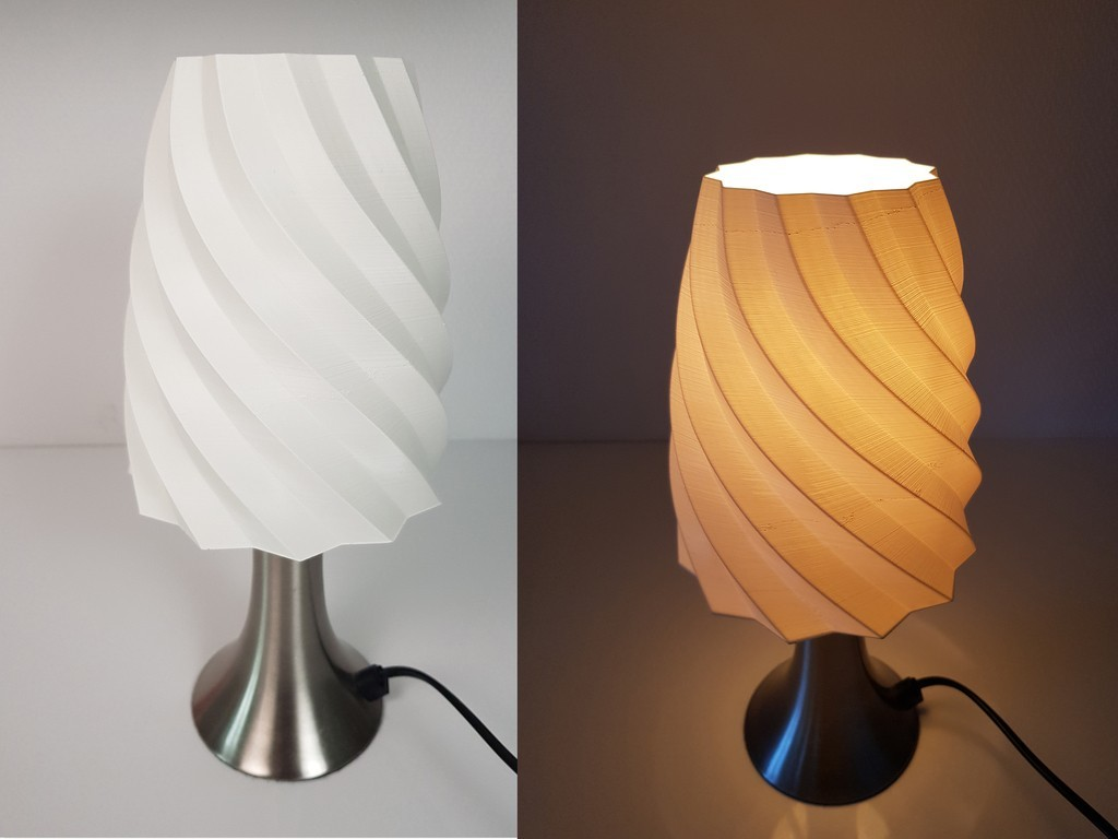 Abat Jour Rond Free 3d Print Files Lamp Shade Abat Jour Cults