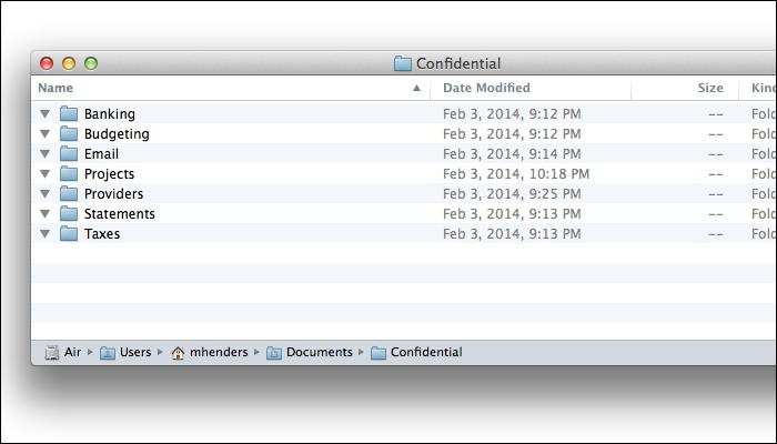 How to share confidential documents using Dropbox and Espionage for