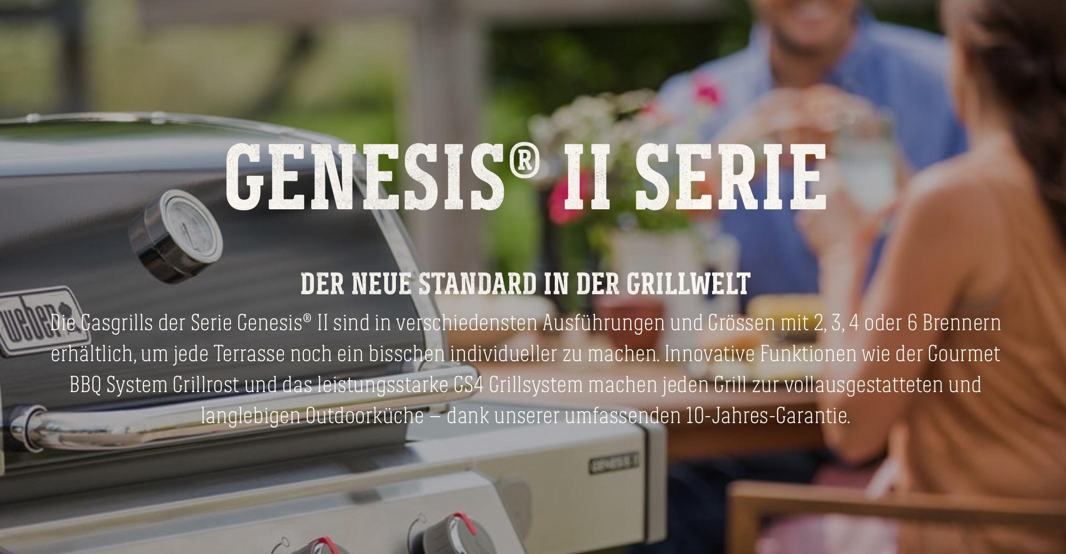 Outdoor Küche Weber Kugelgrill : Outdoorküche mit weber grill weber genesis ii sp gbs