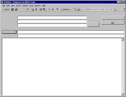 FIX Zetafax Outlook forms are blank on Windows 98