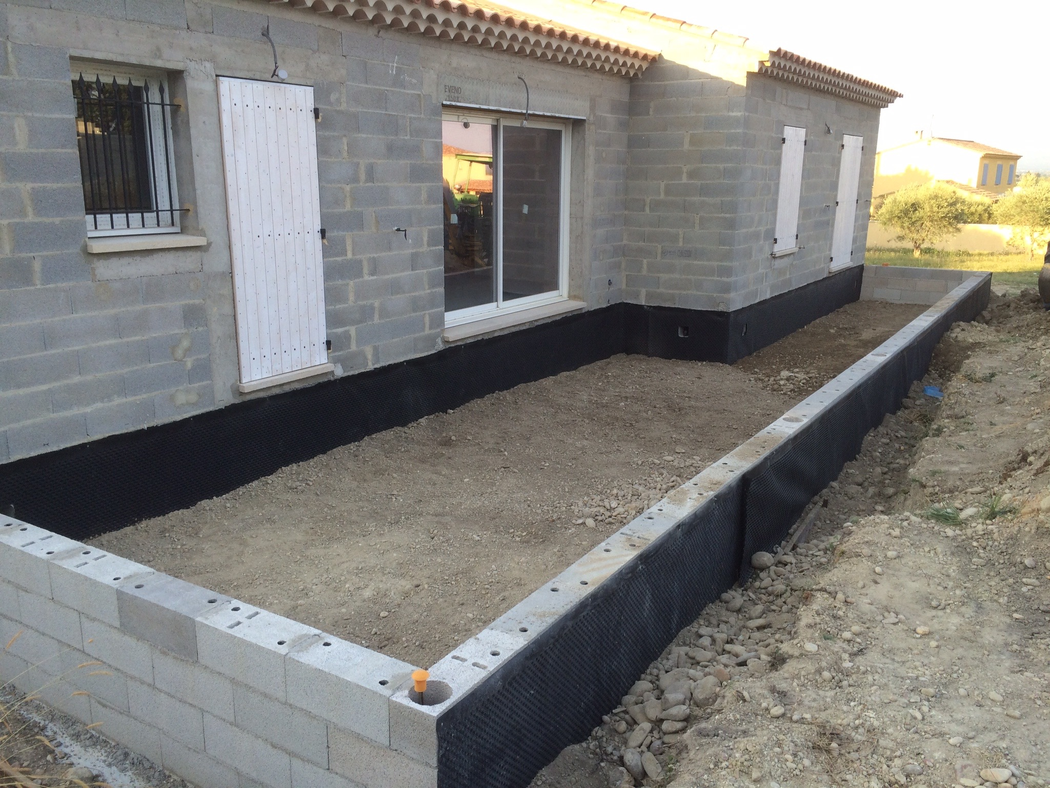 Terrasse Beton Niveau Remblayer Avant Dalle Terrasse 10 Messages
