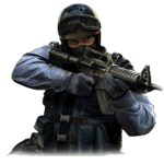 CS GO Counter Terrorist Logo Transparent