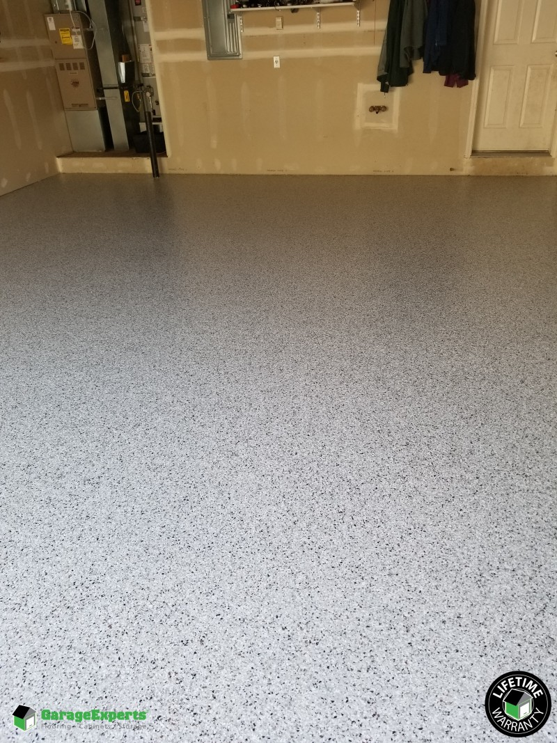 Garage Experts Epoxy Floor Recent Work Garage Experts Of South Central Alaska