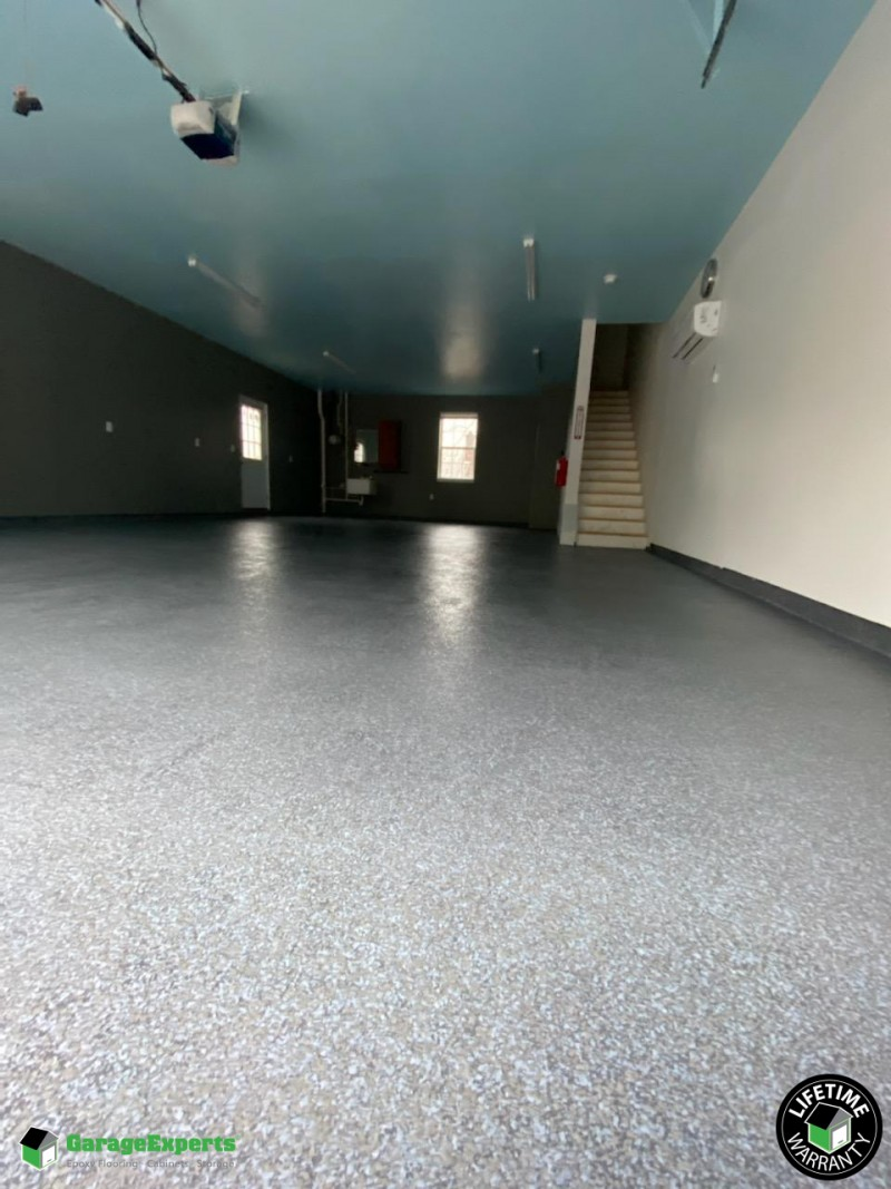 Residential Garage Epoxy Flooring In Bowie Maryland Garage Experts Of Metropolitan Maryland