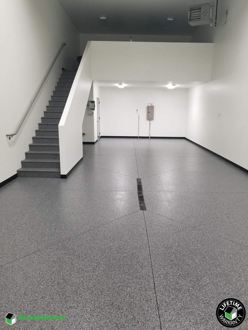 Residential Garage Epoxy Flooring In Mankato Mn Garage Experts Of Southern Minnesota
