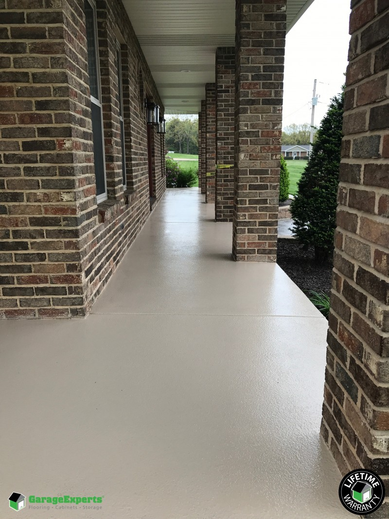 Garage Experts Epoxy Floor Recent Work Garage Experts Of West St Louis
