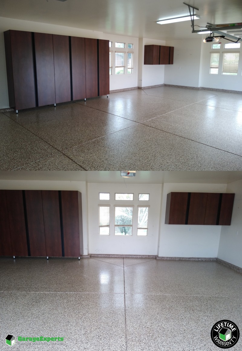 Garage Experts Epoxy Floor Recent Work Garage Experts Of Sacramento