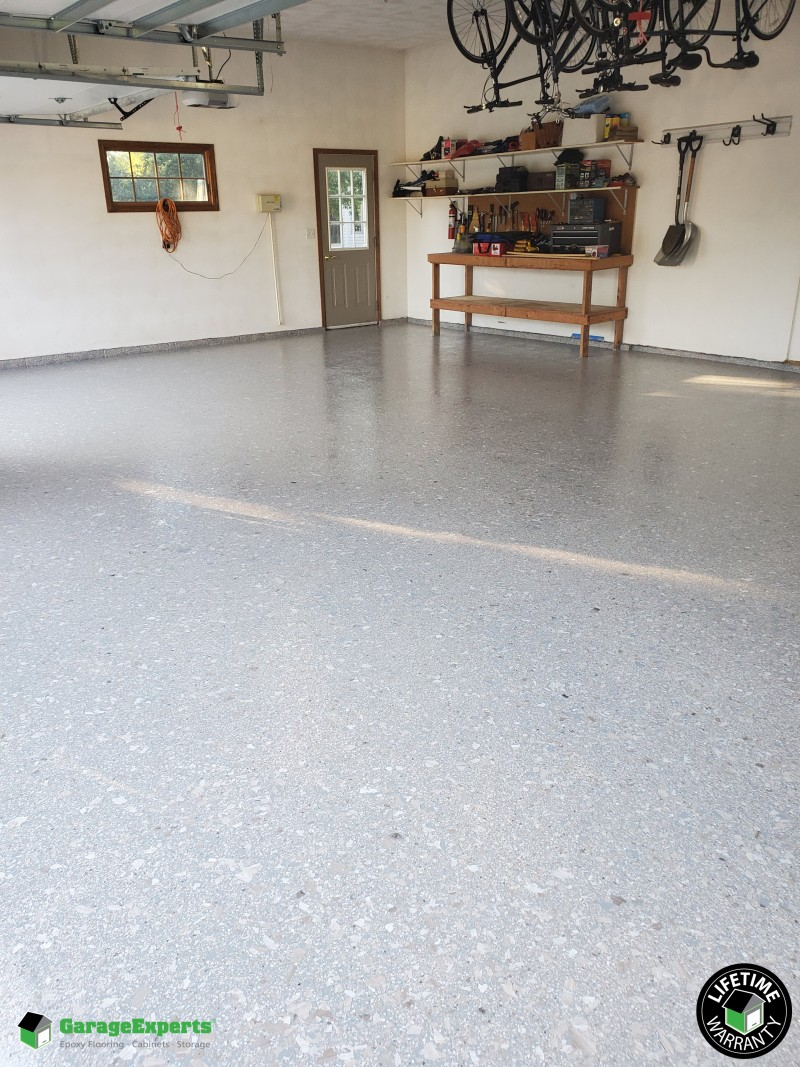 Residential Garage Epoxy Flooring in Owatonna, Mn | Garage Experts of Southern Minnesota