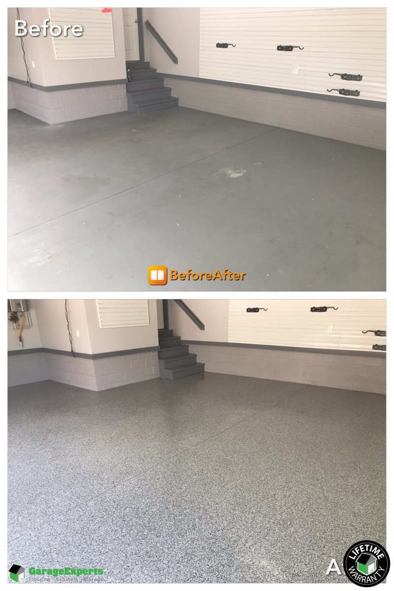 Garage Experts Epoxy Floor Recent Work Garage Experts Of Virginia Peninsula