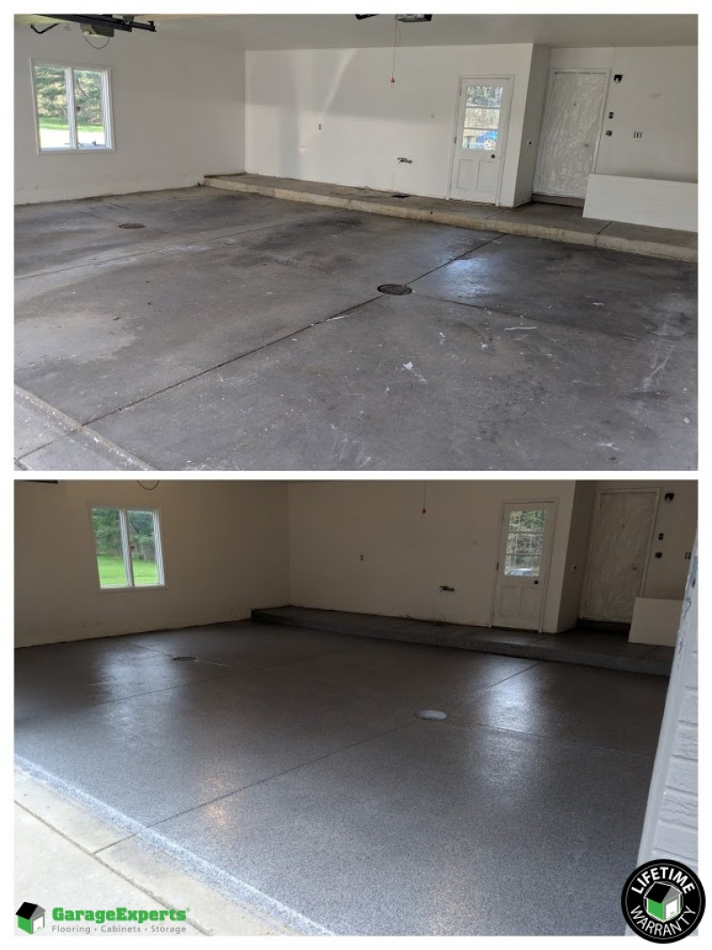 Garage Experts Epoxy Floor Recent Work Garage Experts Of Chagrin Valley
