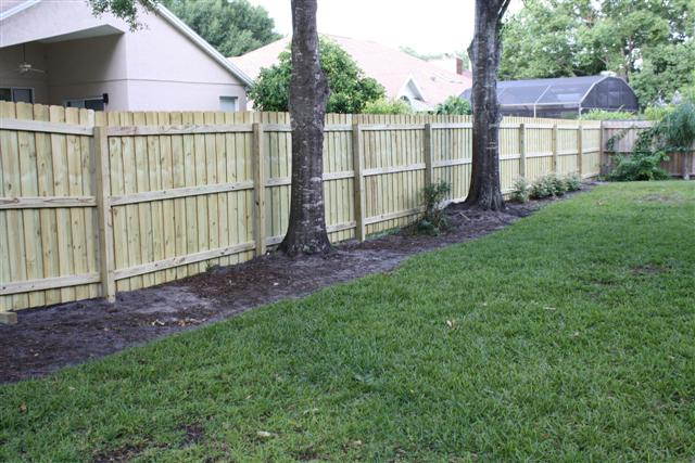 How To Stop Water Runoff From Neighbors Yard Fence Repair Winter Springs Affordable-free Estimate