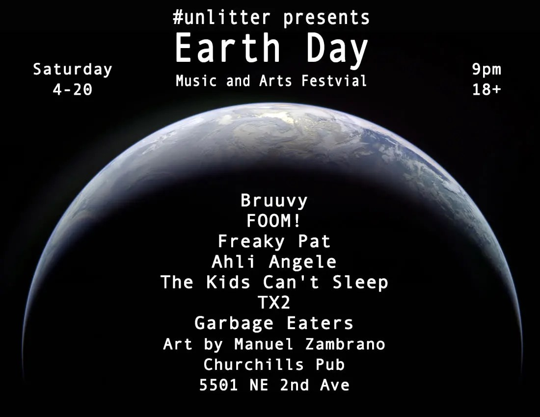 Sleep Music For Kids Churchill S Pub Earthday Music Arts Festival With Bruuvy Foom