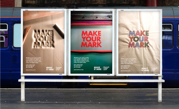 Studio Automat Plymouth College Of Art Campaign Presented By Ycn Studio