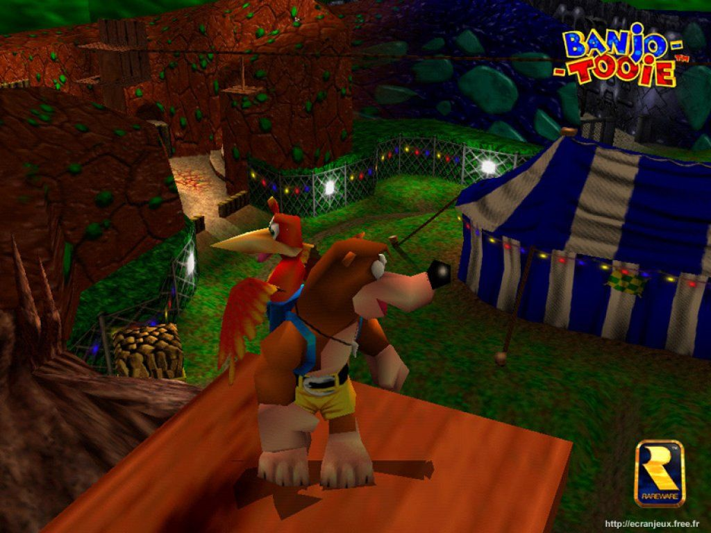 Super Mario 3d Hd Wallpaper Banjo Tooie Wallpapers Download Banjo Tooie Wallpapers