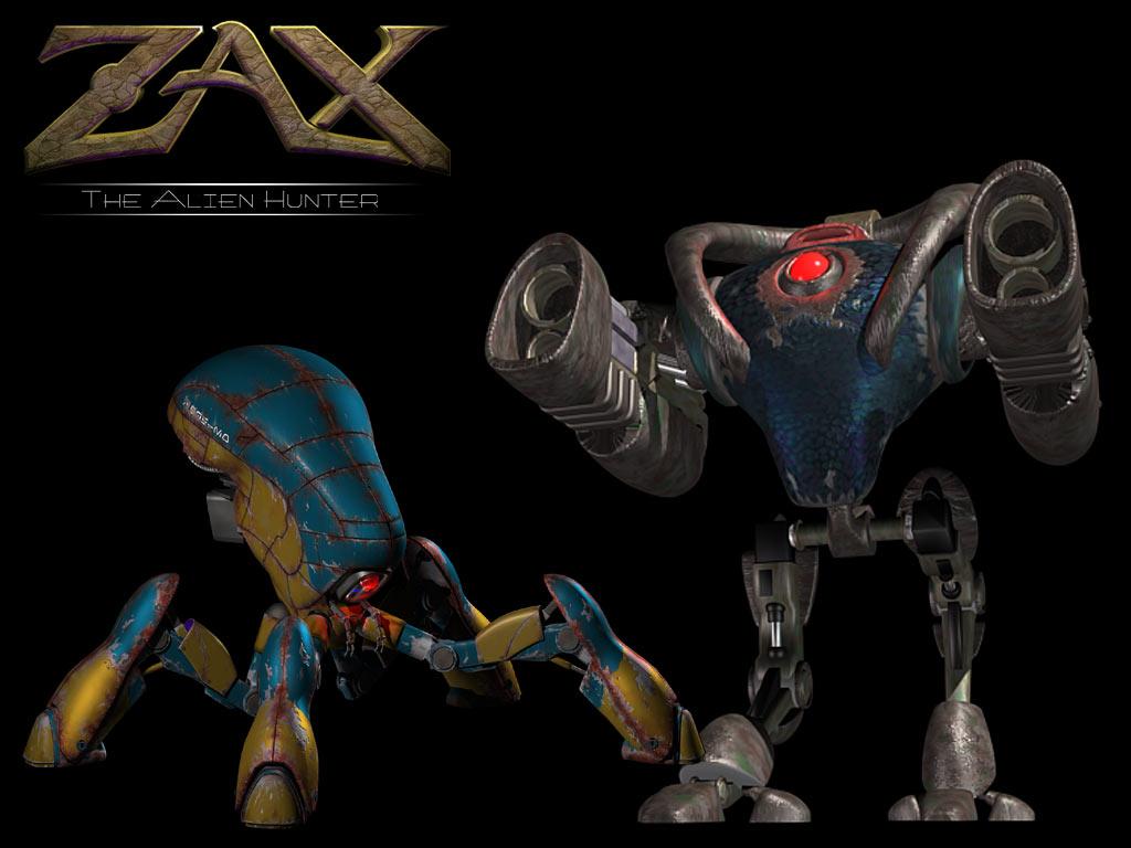 Make 3d Wallpaper Online Zax The Alien Hunter Wallpapers Download Zax The Alien