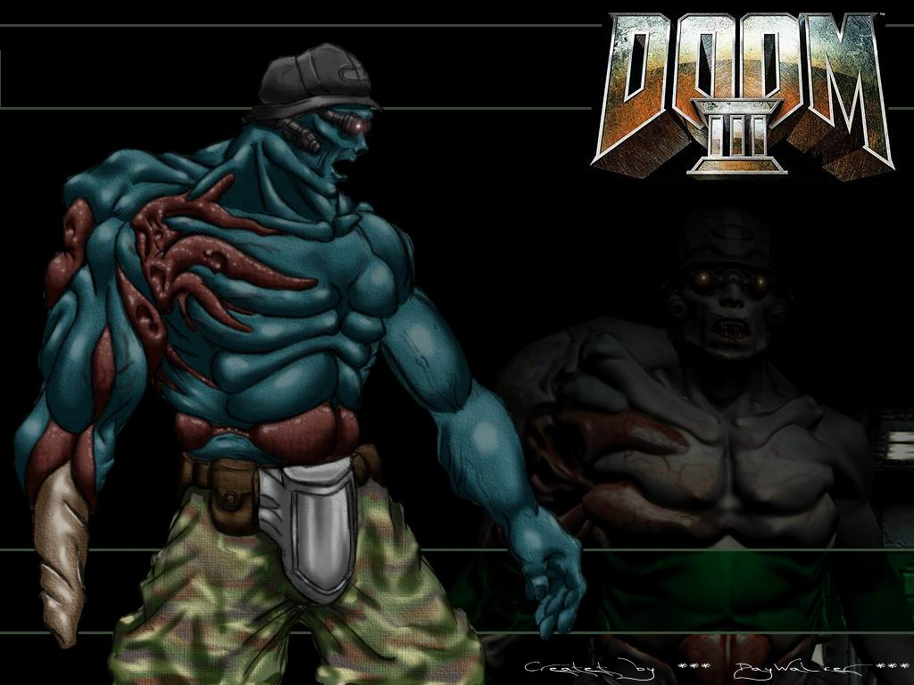 Wallpaper Zombie Girl Doom 3 Wallpapers Download Doom 3 Wallpapers Doom 3