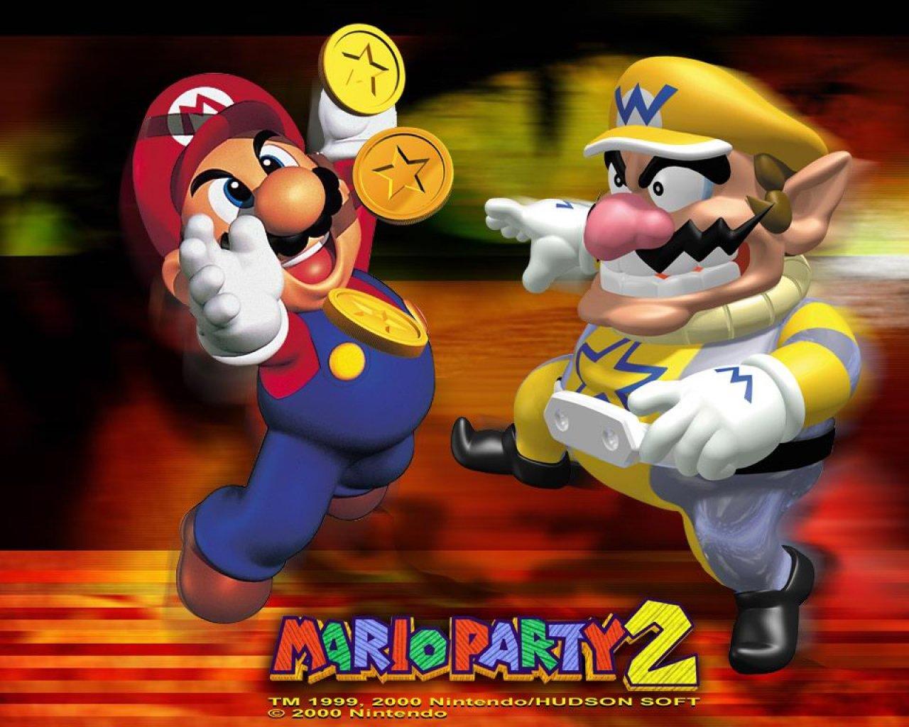 Wallpaper 3d Mario Bros Mario Party2 Wallpapers Download Mario Party2 Wallpapers