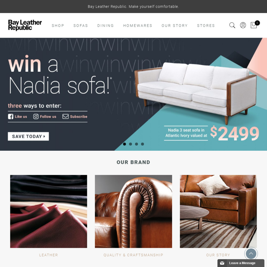 Freedom Furniture Lounges Bay Leather Republic New Sofa Are They Good Ozbargain Forums