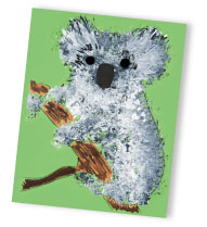 koala painting