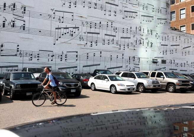 Schmitt music mural