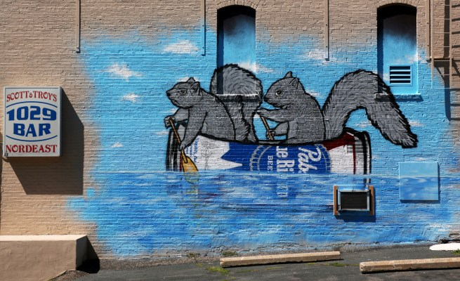 Squirrel Mural