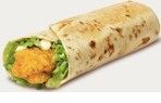 image chicken wrap