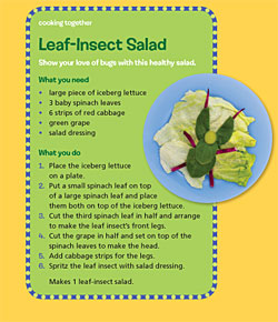 Leaf Insect Salad 250x290