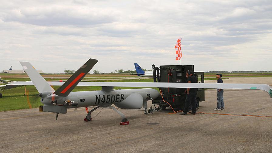 Cool NDSU Announces Large-Scale Drone Test PrecisionAg
