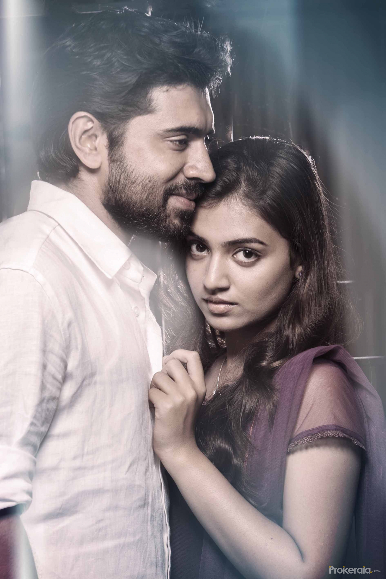 Raja Rani Movie Wallpapers With Quotes Nivin Pauly And Nazriya In Om Shanthi Oshana Stills