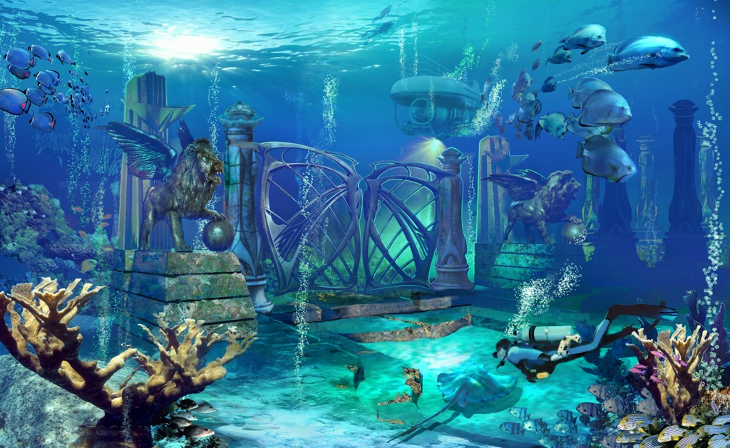 Ocean 3d Dynamic Wallpaper Qatar Underwater Theme Park Qatar Living