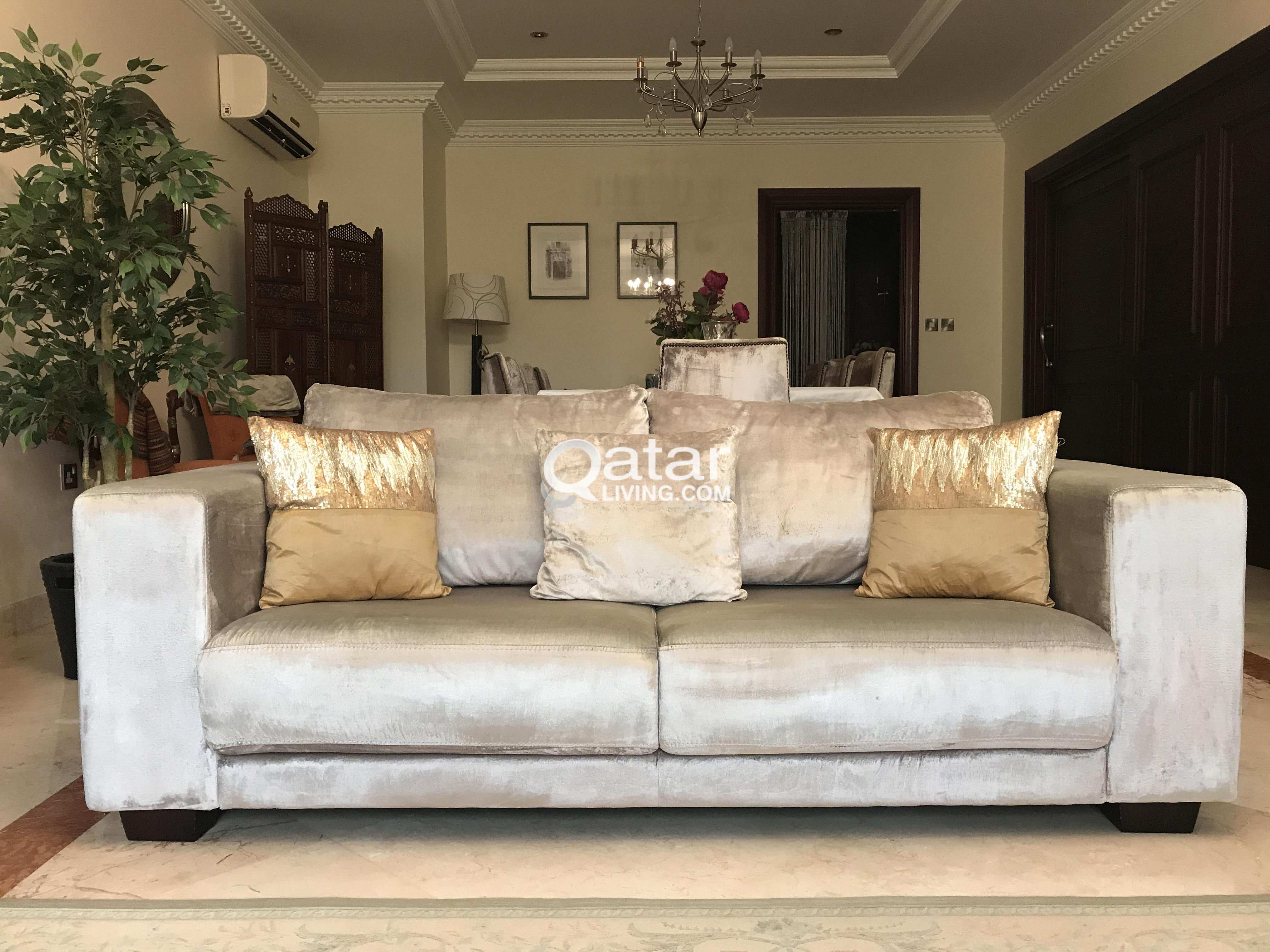 Sofa Set Price In Qatar The One Furniture 3 X Sofas 43 43 Qatar Living