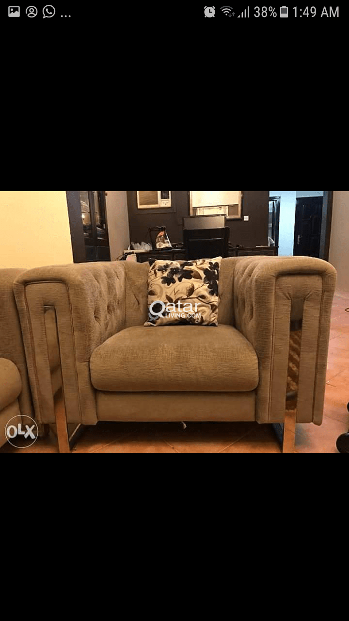 Furniture Olx Qatar Elegant 7 Seater Modern Sofa Set Qatar Living