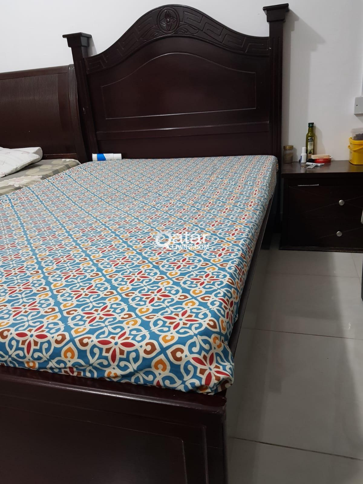 Bed 120 X 190 Single Bed 120x190 With Mattress Qatar Living