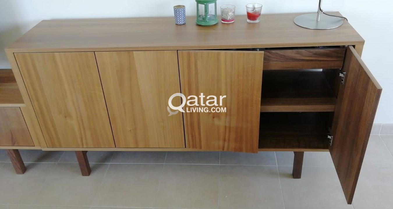 Ikea Keuken Contact Ikea Stockholm Sideboard Qatar Living