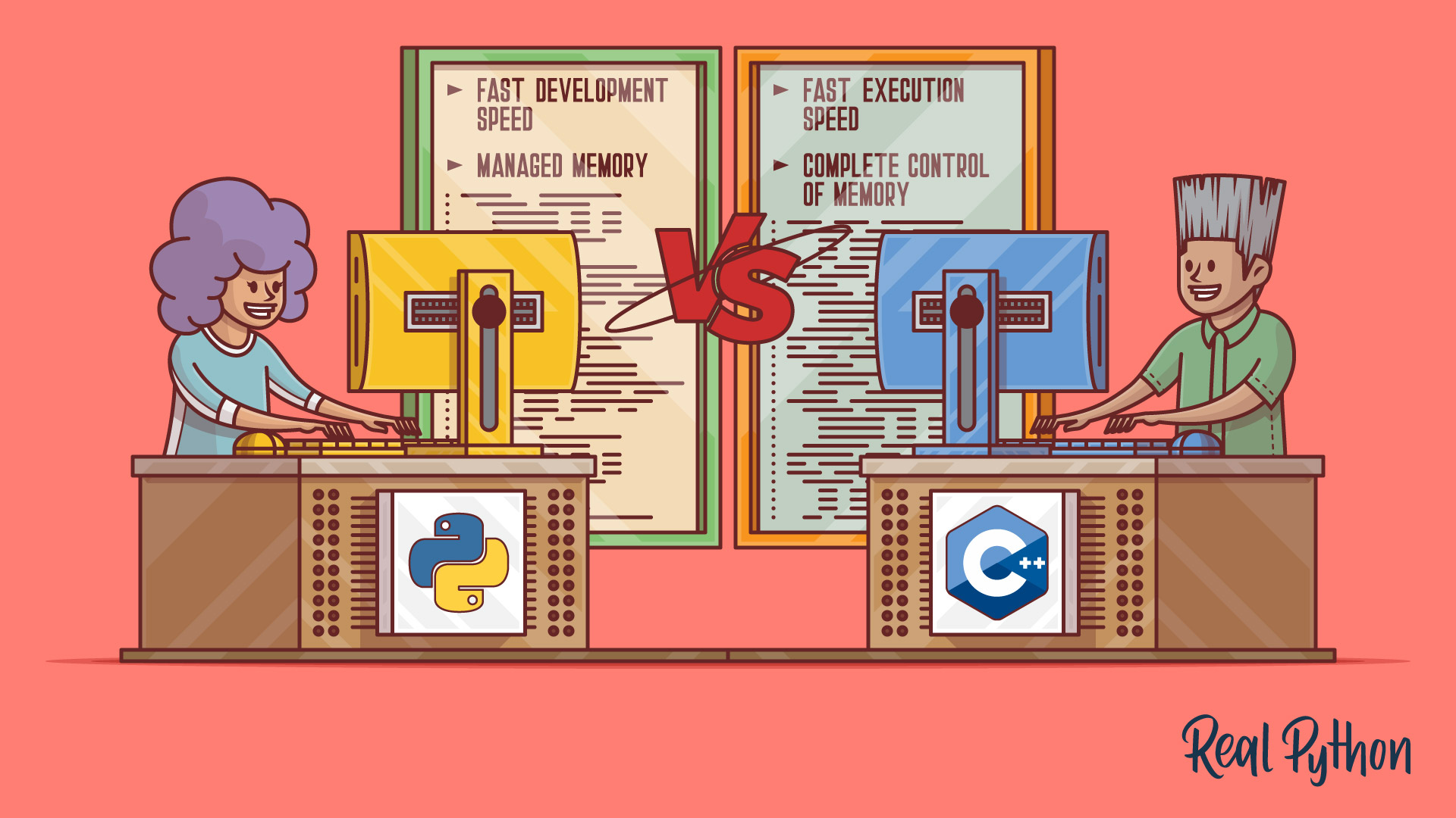 / Vs Python Vs C Selecting The Right Tool For The Job Real
