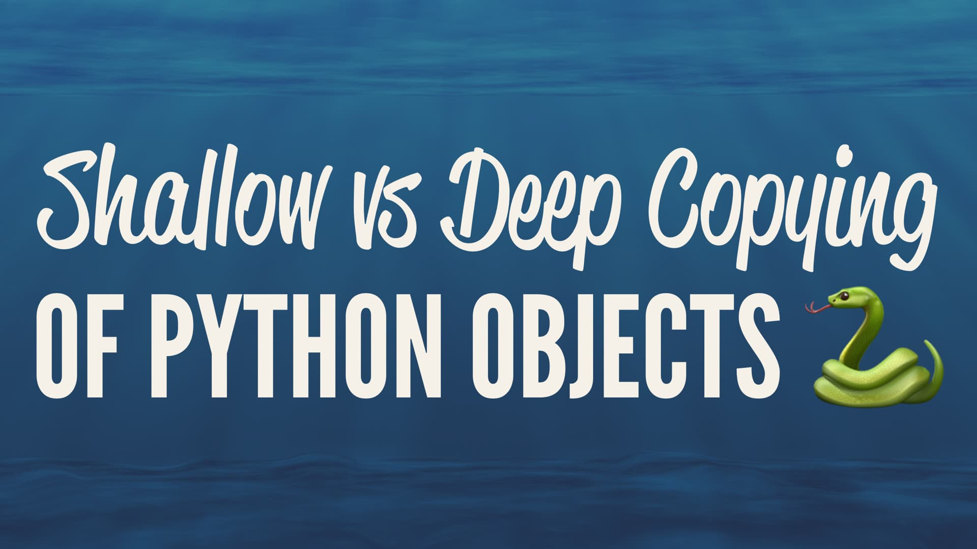 Libros Python Shallow Vs Deep Copying Of Python Objects Real Python