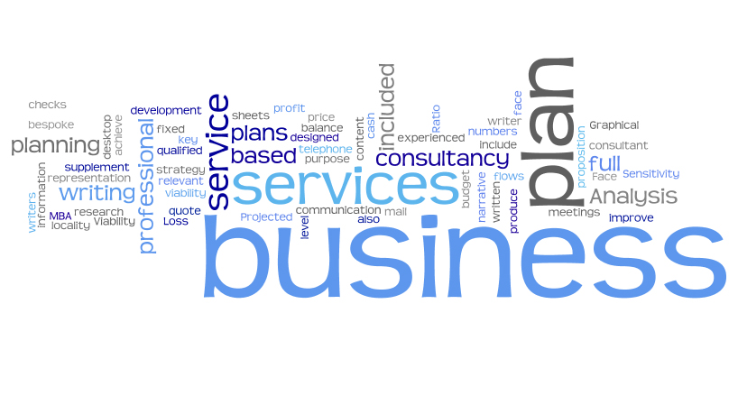 We love creating word clouds! Professional Business Plans - business plans