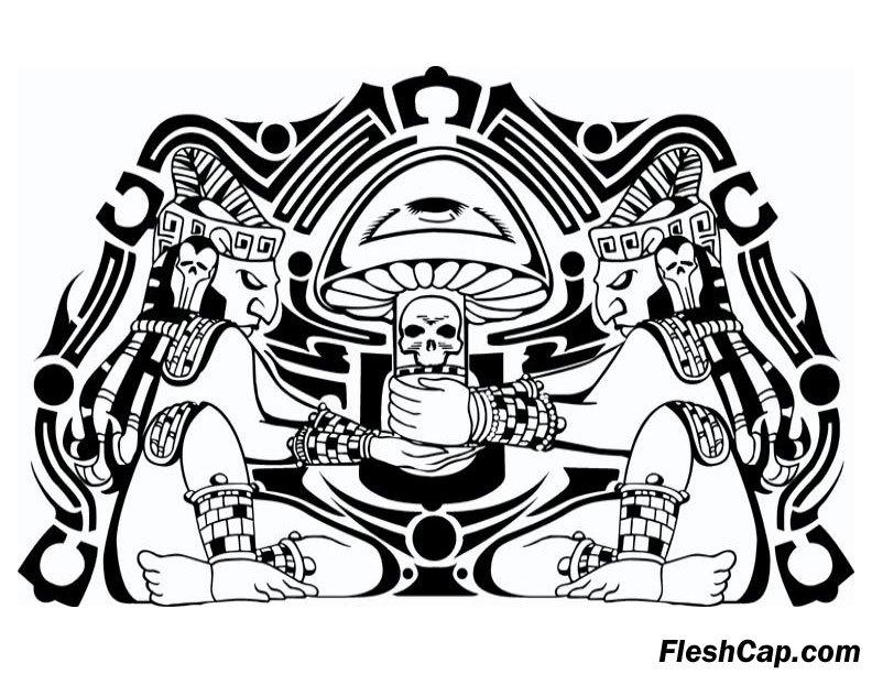 Aztec Print Wallpaper Hd Fleshcap S Gallery Shroomery Message Board