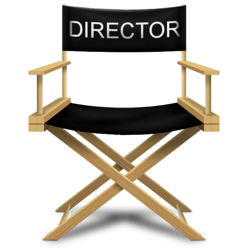 Directors chair icon director s chair icon softicons com