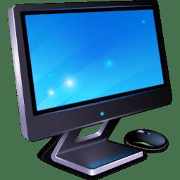 3d Hologram Wallpaper Gif My Computer Icon 3d Bluefx Desktop Icons Softicons Com