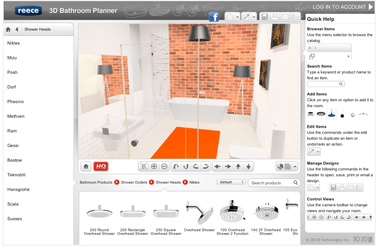 3d Room Planner Free New Easy Online 3d Bathroom Planner Lets You Design Yourself The